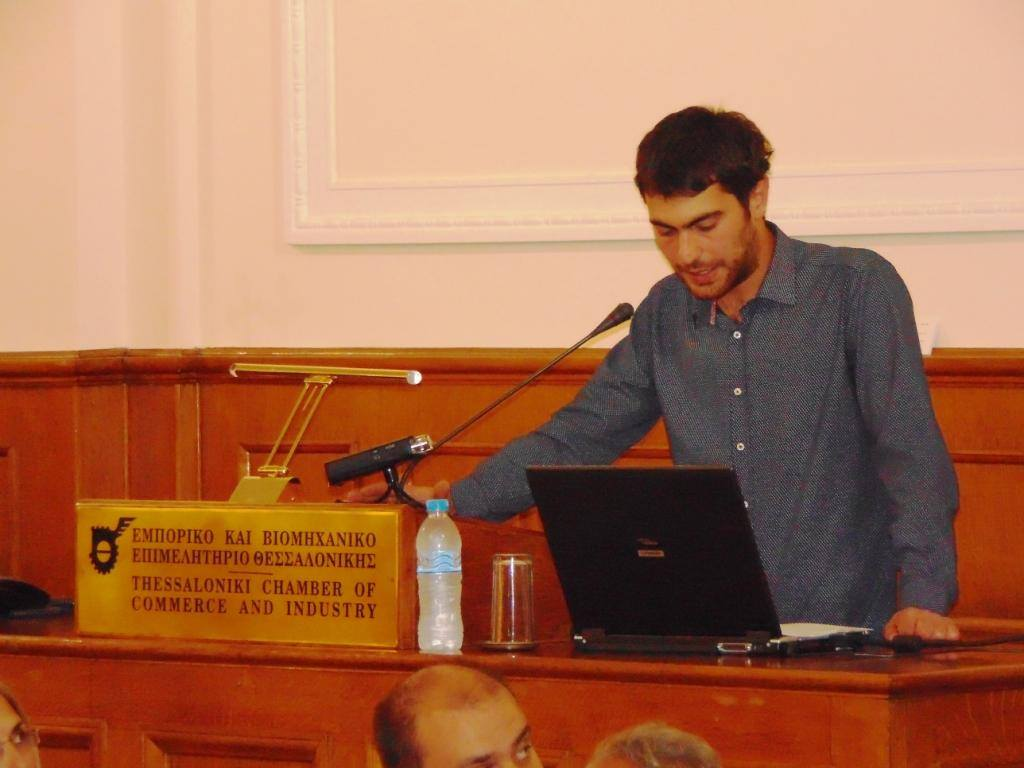 George Yfantidis   Speech in TCCI