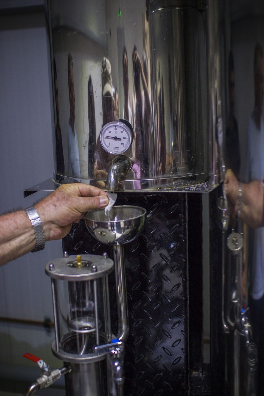 The process of lavender distillation