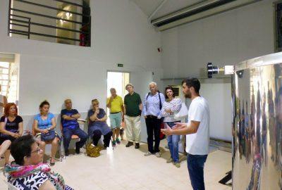 Ο Γιώργος Υφαντίδης μιλώντας για την καλλιέργεια και την απόσταξη της λεβάντας