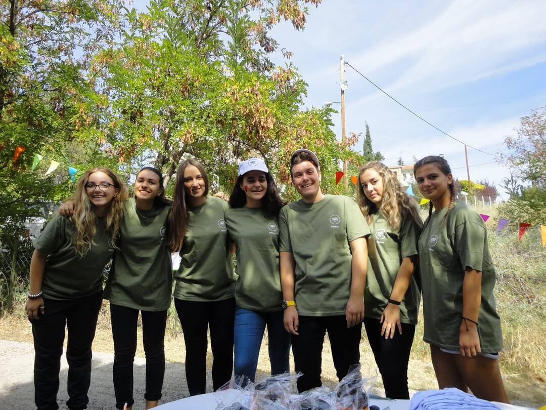 Μέλη του Περιβαλλοντικού και Πολιτιστικού Συλλόγου Ωραιοκάστρου