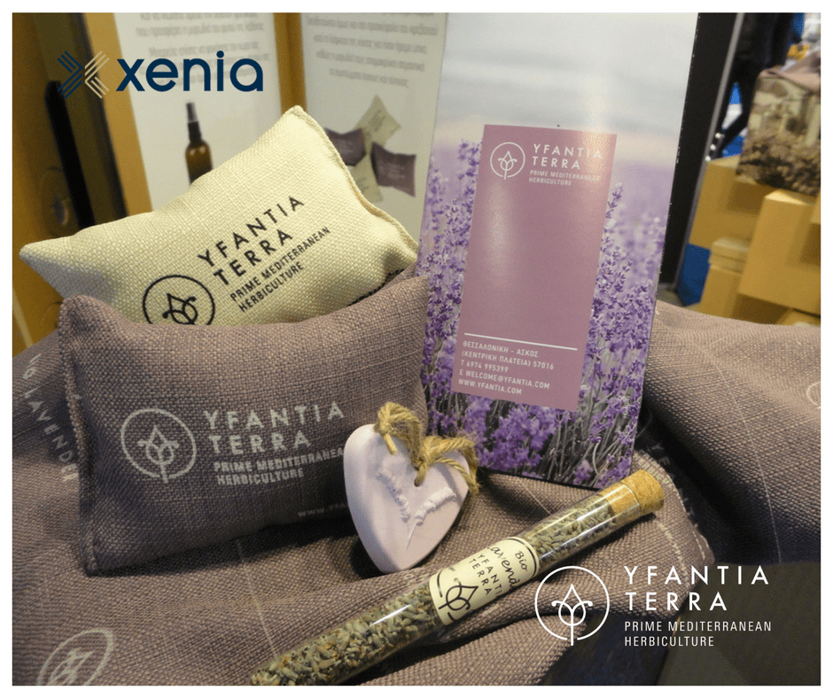 Dried lavender blossoms as welcome gifts and amenities for hotel units
