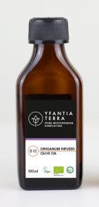 Yfantia Terra | Βιολογικό ελαιόλαδο, βιολογικό εκχύλισμα ρίγανης σε συκευασία 100ml